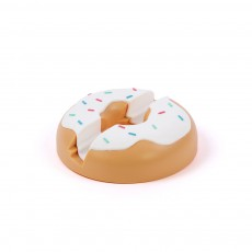 Support tablette Donut Blanc