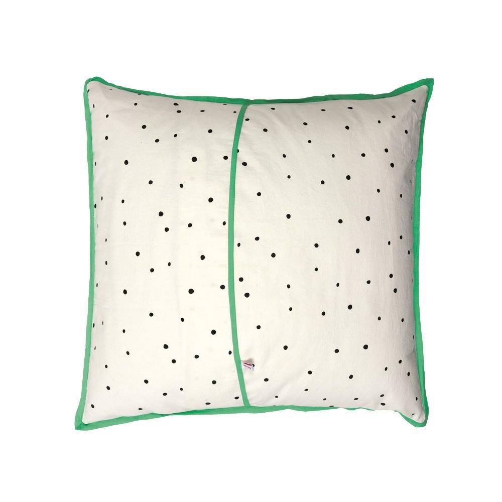 coussin t te de panda 50x50 cm mimi 39 lou d coration smallable. Black Bedroom Furniture Sets. Home Design Ideas