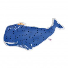 Coussin doudou Olga la baleine