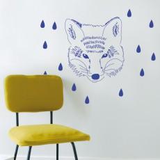 Sticker Tête de renard