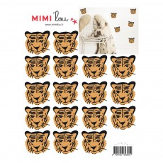 Planche de stickers Tigres