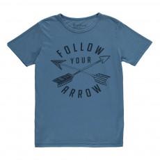 T-Shirt Flèches Bleu