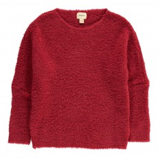 Pull Bouclettes Ayles Rouge cerise
