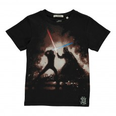 T-Shirt Jedi Star Wars Noir