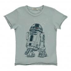 T-Shirt Star Wars R2D2 Bleu pâle