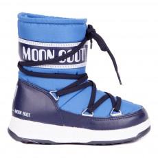 Moon Boot Sport Mid Bleu