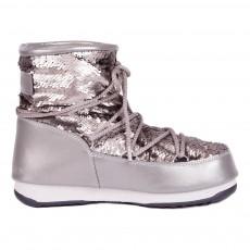 Moon Boot We. Low Paillettes Argenté