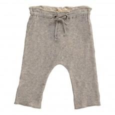 Pantalon Coton Japonais Gris chiné