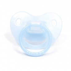 Tétine silicone Dummy Bleu