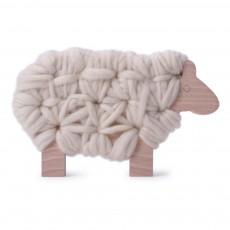 Mouton Woody à lacer - Ecru