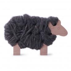 Mouton Woody à lacer - Gris