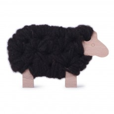 Mouton Woody à lacer - Marron
