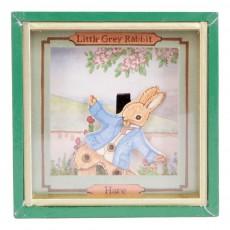 Mini boîte à musique Little Grey Rabbit Hare Multicolore