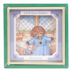 Mini boîte à musique Little Grey Rabbit Fuzzypeg Multicolore