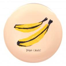 Assiette en mélamine - Bananes Jaune