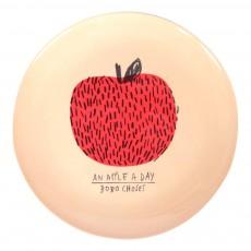 Assiette en mélamine - Pomme Rouge