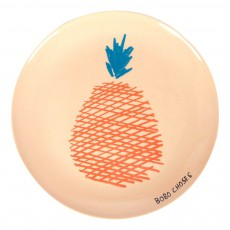 Assiette en mélamine - Ananas Orange