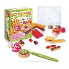 Eco-moulage Popsine Ma petite boulangerie Multicolore
