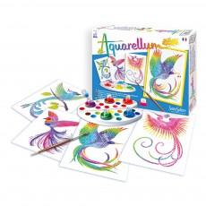 Aquarellum Oiseaux du paradis Multicolore