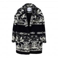 Manteau Ethnique Noir