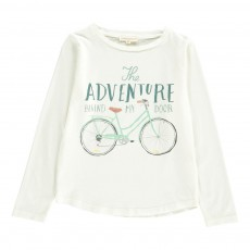 T-shirt Adventure Ecru