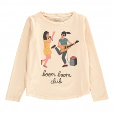 T-shirt Boom Boom Club Rose poudré