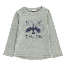 T-shirt The Wood Folks Gris chiné