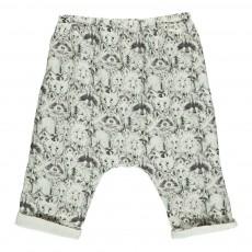 Pantalon Fox & Racoons Bébé Ecru