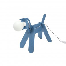 Lampe Get out dog - Bleu de prusse