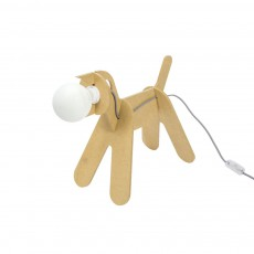 Lampe Get out dog - Jaune moutarde