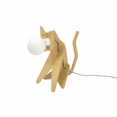 Lampe Get out cat - Jaune moutarde