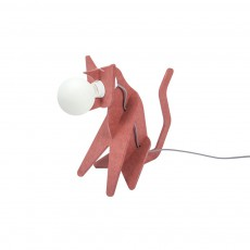 Lampe Get out cat - Rouge marsala