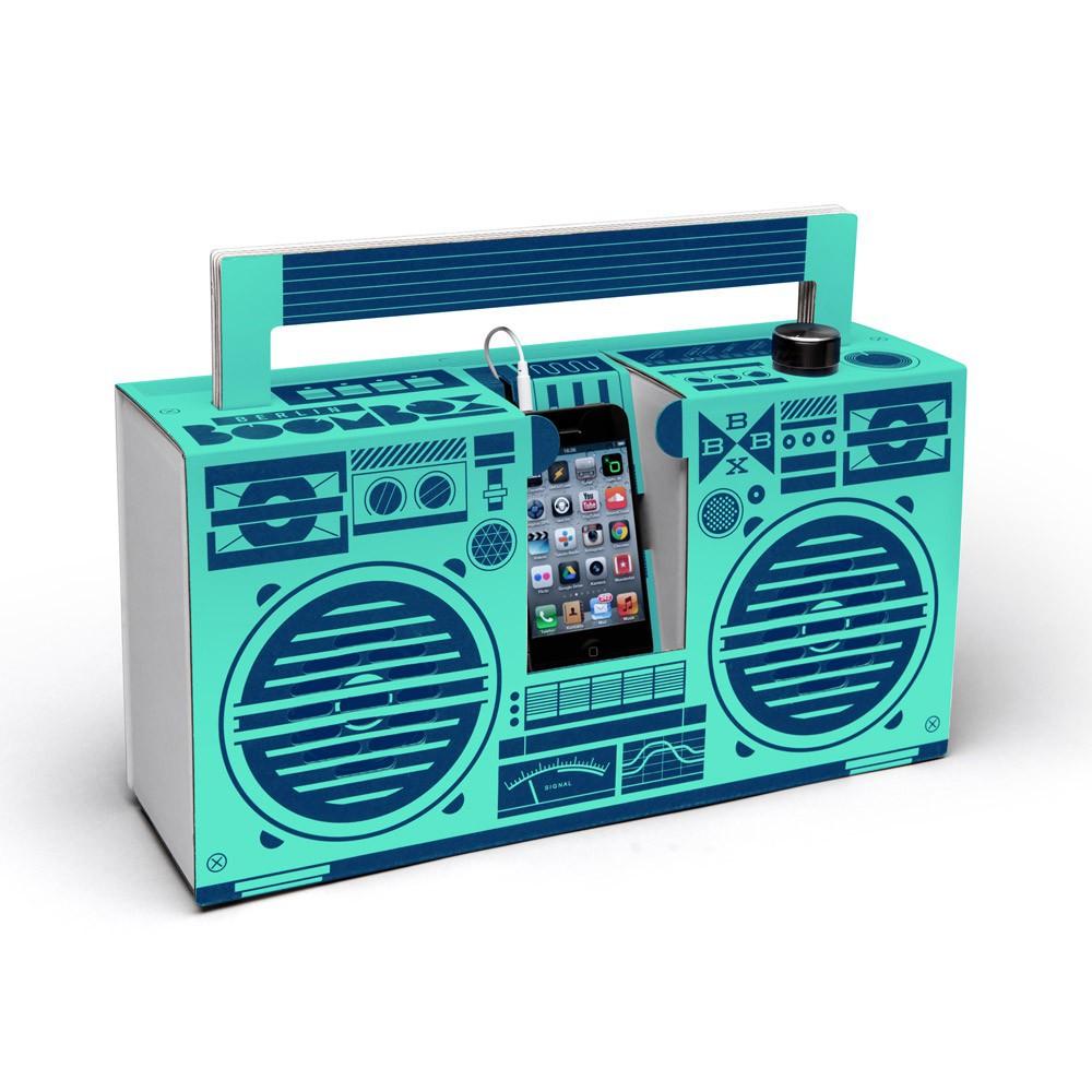 Enceinte fa on ghetto blaster 3 0 avec port usb vert p le berlin boombox d - Ghetto blaster acheter ...