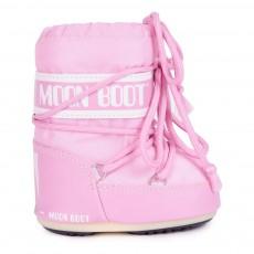 Moon Boot Mini Nylon Rose pâle