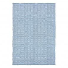 Tapis en coton Bergen Bleu