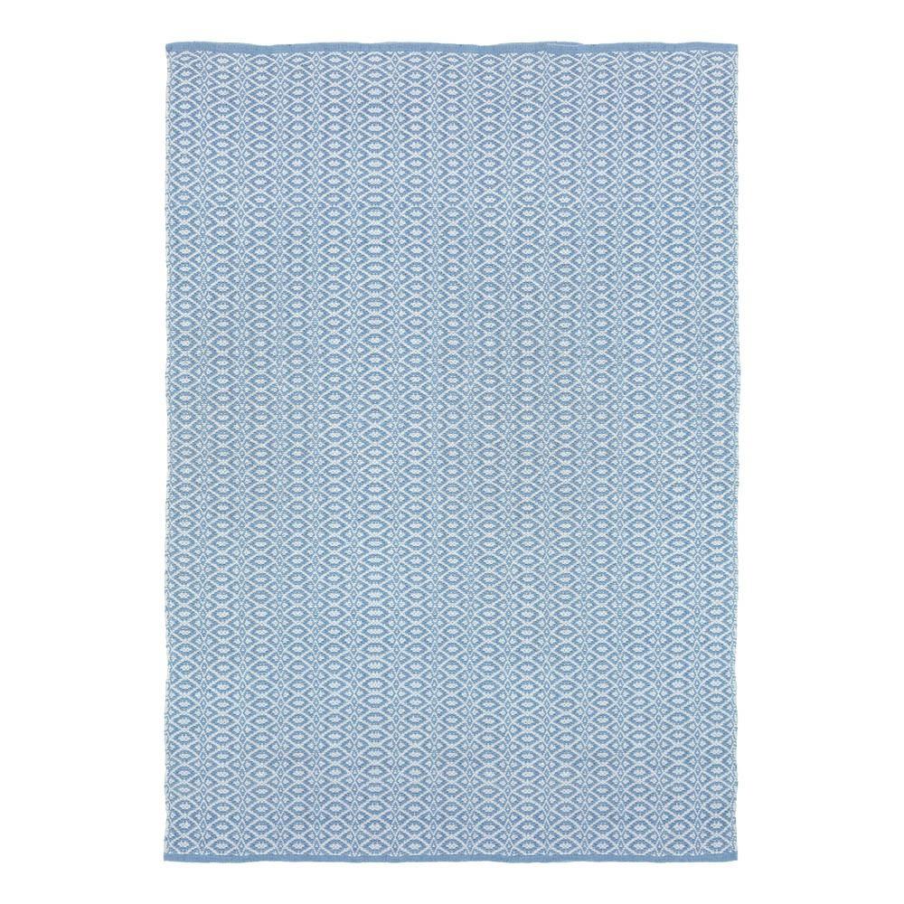 tapis en coton bergen bleu liv interior d coration smallable. Black Bedroom Furniture Sets. Home Design Ideas