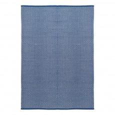 Tapis en coton dots Bleu