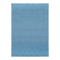 Tapis en coton Zigzag Denim