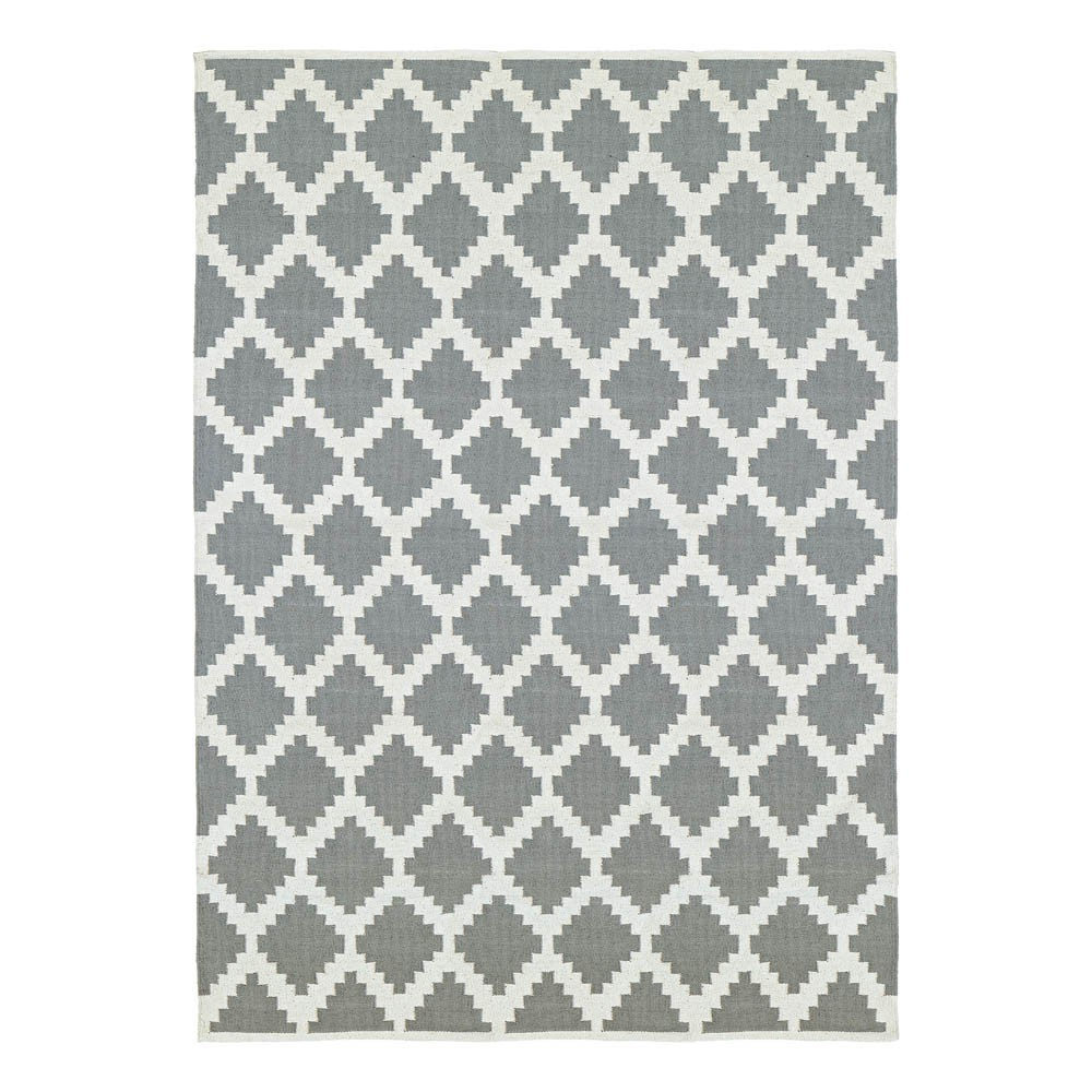 tapis en coton siesta gris liv interior d coration. Black Bedroom Furniture Sets. Home Design Ideas