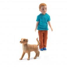 Xavier et son chien