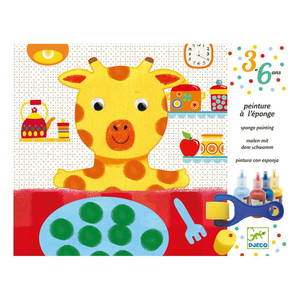 Peinture l 39 ponge djeco jeux jouets loisirs enfant - Peinture a l eponge ...