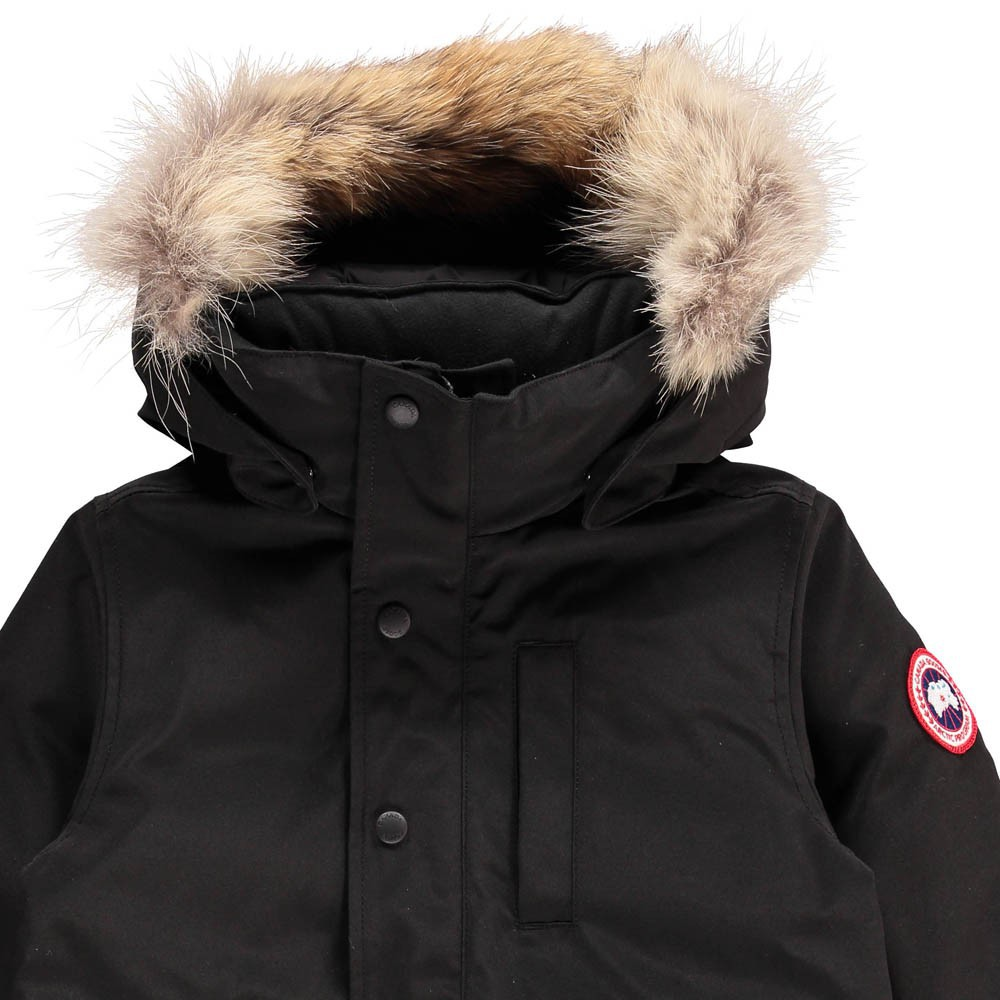 parka logan noir canada goose mode ado gar on smallable. Black Bedroom Furniture Sets. Home Design Ideas