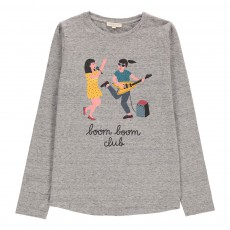 T-shirt Boom Boom Club Gris chiné