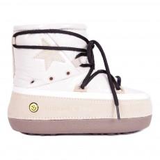 Boots Fourrées North Star Blanc