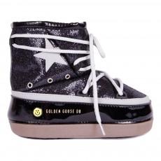 Boots Fourrées Paillettes North Star Noir