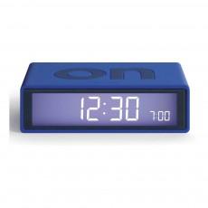 Réveil LCD Flip Bleu électrique