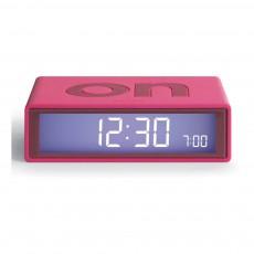 Réveil LCD Flip Rose bonbon