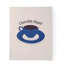 Poster Chocolat chaud