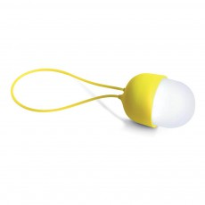 Lampe LED balladeuse rechargeable Jaune