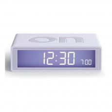 Réveil LCD Flip Blanc